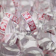 Monogrammed Wine Car Boot govino shatterproof glassware