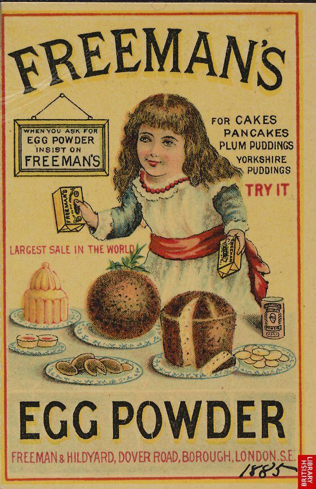 Freeman's Egg Powder, 1885.