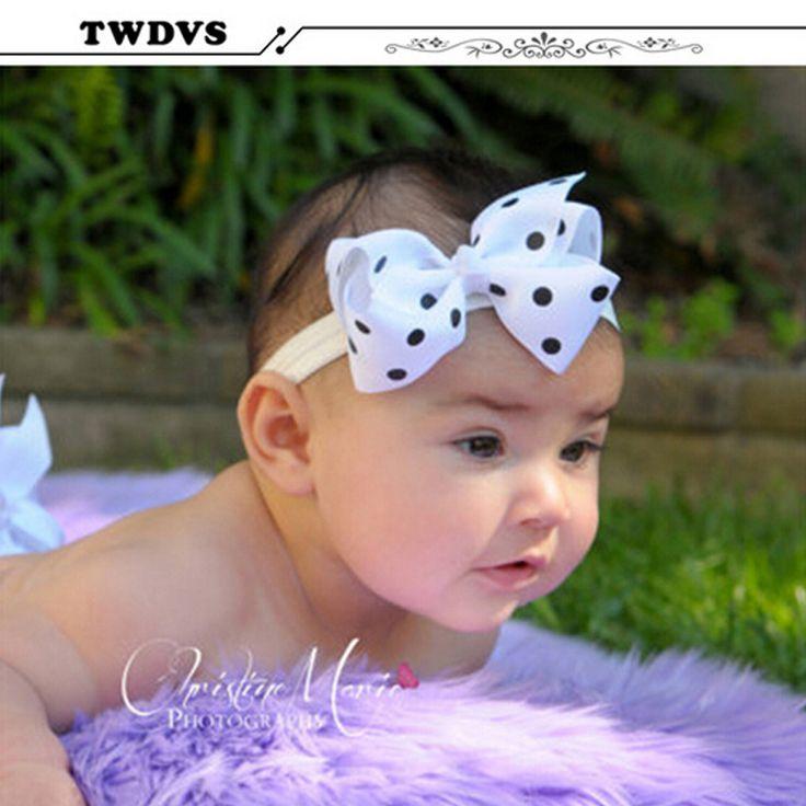 Twdvs blumen kinder babys haar-accessoires gummibänder mädchen barrettes beugen headwear einzelhandel großhandel boutique w -- 005