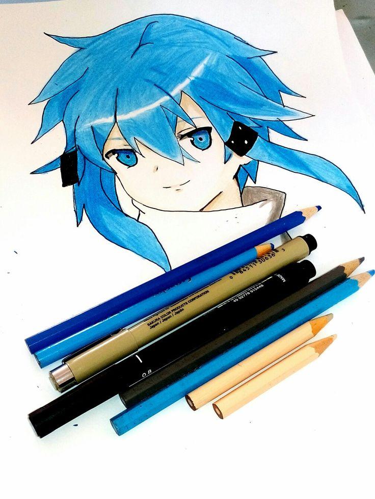 My drawing  Sword art Online   「 Sinon 」GGO