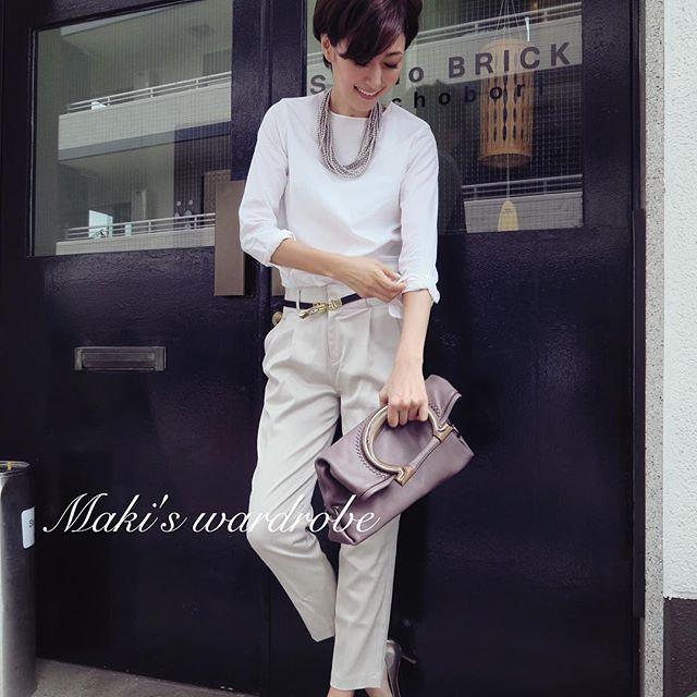田丸麻紀さんの素敵過ぎるコーディネートにうっとりすること間違いなしです♡田丸麻紀さんがファッションアイテムを着こなすというより、アイテムが田丸麻紀さんに寄り添っているようです。内面からも湧き出る田丸麻紀さんの美しさにうっとりが止まりません。