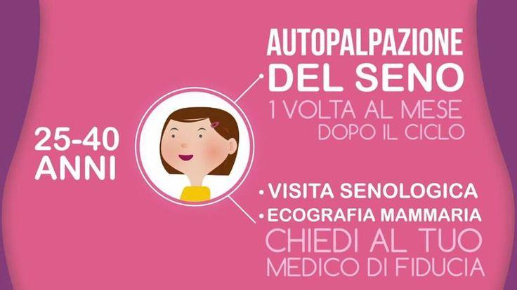 L'arma più efficace contro il tumore al seno è sempre la prevenzione. #PinkisGood project by @Fondazione Veronesi