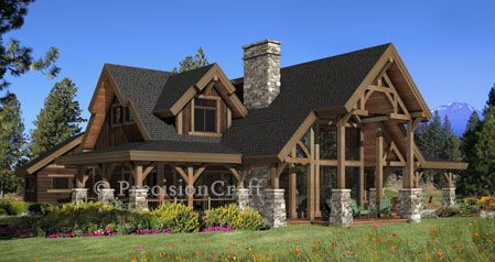 9 best Popular Log Home and Timber Frame Home Floor Plans images on – Perfect Retirement Home Plans