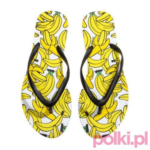 Kolorowe japonki H&M #polkipl
