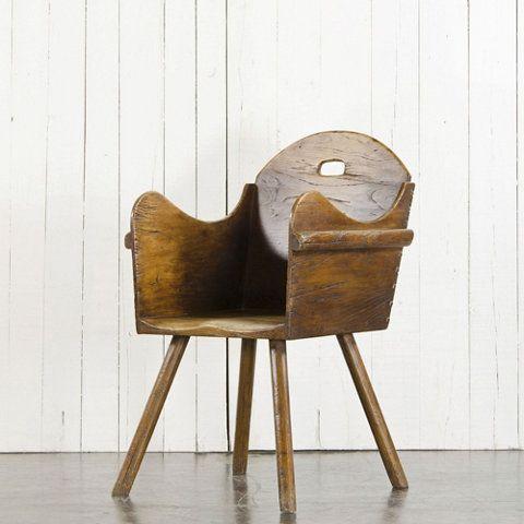 Primitive Wood Chair
