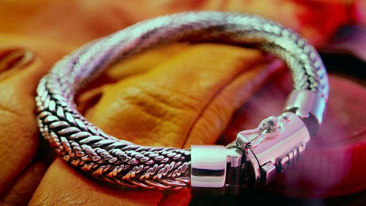 Ganesha 203 Zilveren armband - Zilveren armbanden - Silk Jewellery