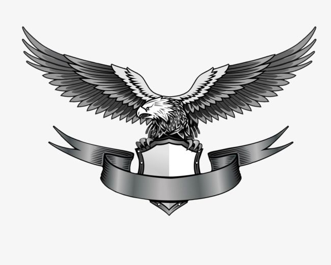 Eagle With Banner Creation Logo Png Photo Logo Design Png Images For Editing