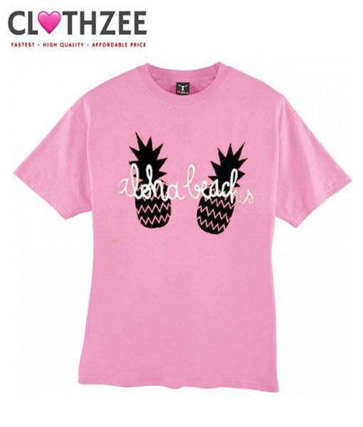 Aloha beaches Pink T-Shirt