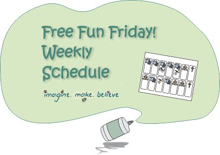 Weekly Schedule, free, children, activities, days, visual cue, chart #freeprintable #weeklyschedule #chart #children #kids #free #activities #organise #organisation