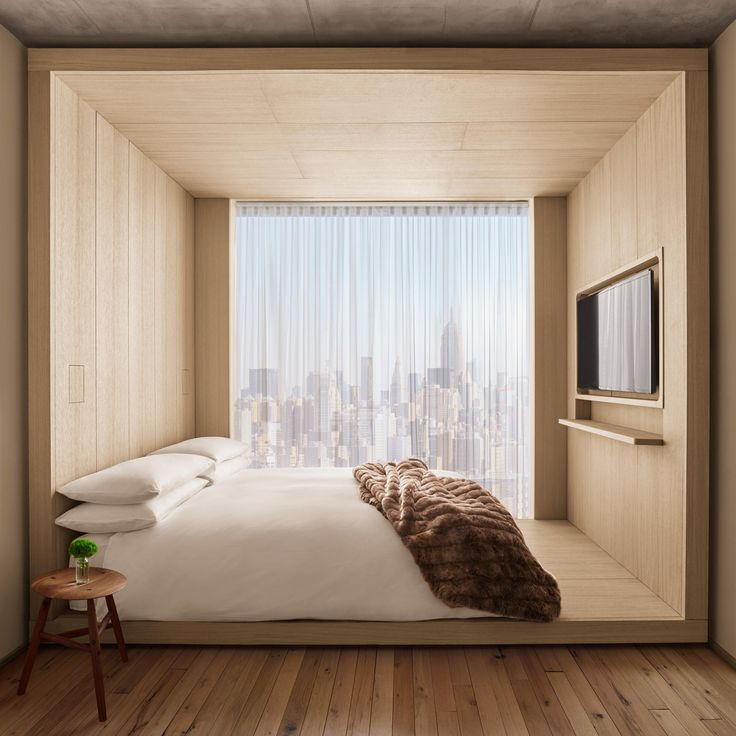 Public is the brainchild of legendary hotelier Ian Schrager, who opened the 367-room venture in the city's Bowery neighbourhood in response to growing competition from Airbnb.