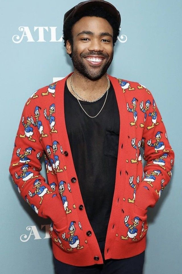 Donald Glover - Sporting GUCCI's Donald Duck Collection - Disney Style and Fashion