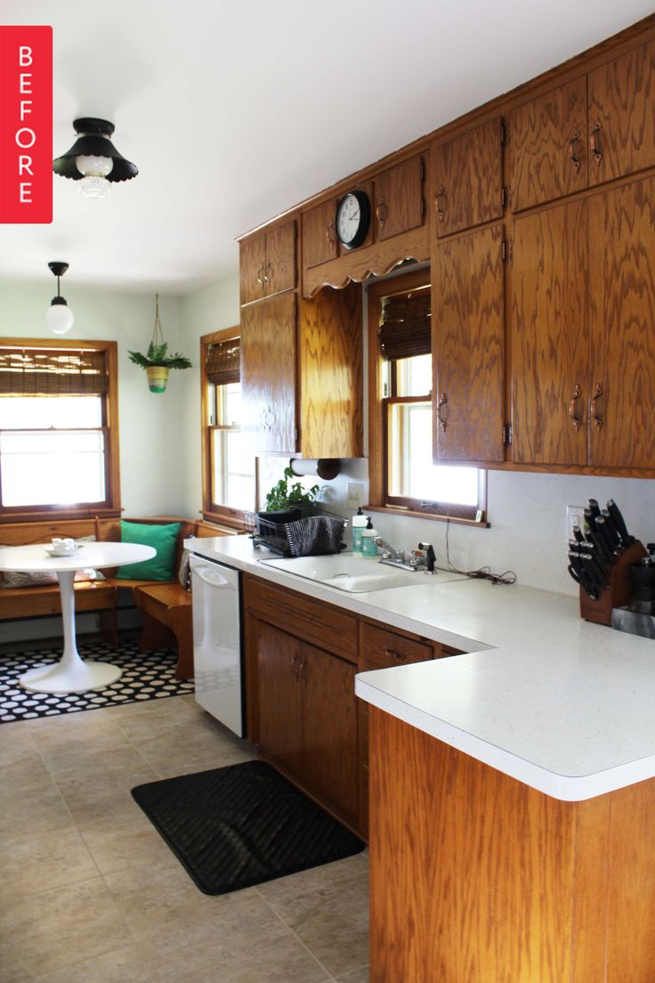 best 25 1960s kitchen ideas on pinterest 1920s house 1900s before after a 1960s kitchen opens up for under 200