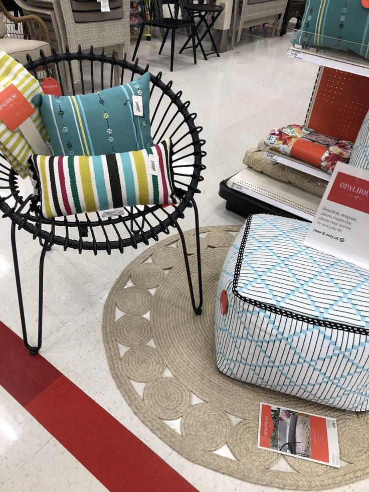 Target Patio (With images) Saucer chairs, Decor, Furniture