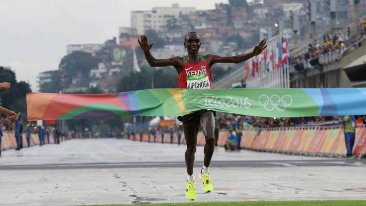 #Maratón #Rio2016 #JuegosOlímpicos #KEN #Keniano #Kipchoge #oro #Olímpico en #Bra en #Sambodromo   #Deportes   EL PAÍS