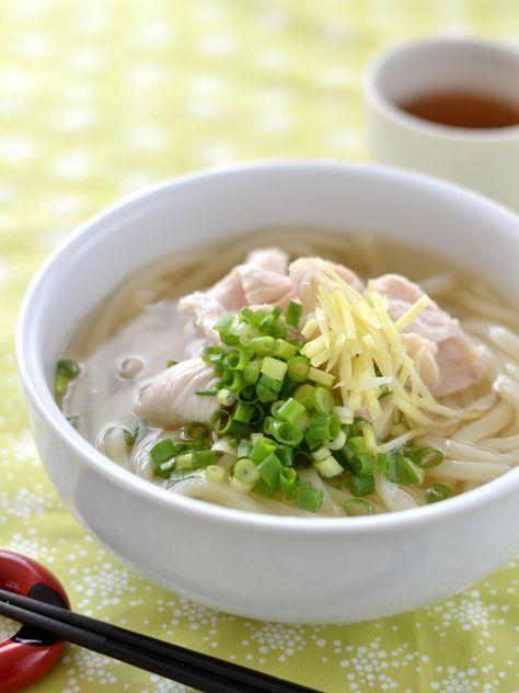 鶏だししょうが温うどん by 西山京子/ちょりママ   レシピサイト「Nadia   ナディア」プロの料理を無料で検索