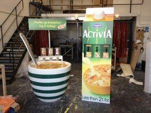 Activia Experiential Brand Marketing Campaign