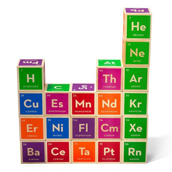 periodic table blocks // Uncle Goose