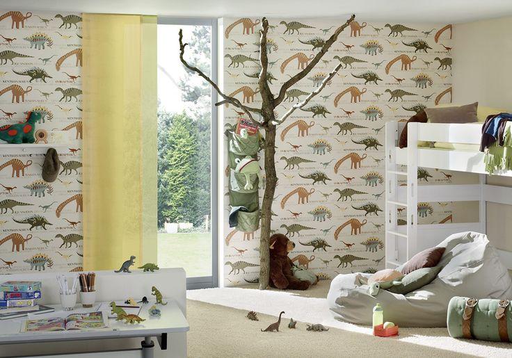 Die 25 besten dinosaurier schlafzimmer ideen auf for Kindertapete junge
