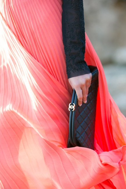 Chanel clutch will elevate anything you wear it with!