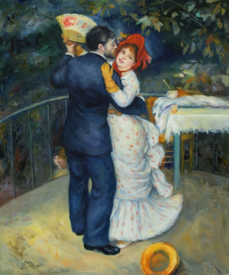 Pierre Auguste Renoir, Dance in the country | Artes plasticas y visuales, Arte, Pinturas