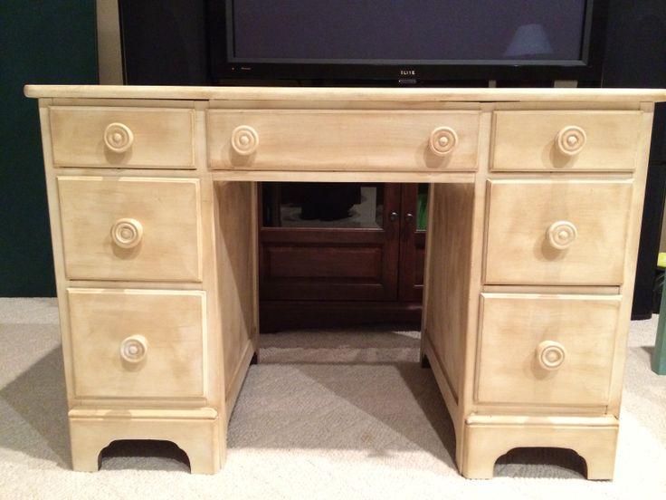 Desk / Vanity --                                                    Annie Sloan Paint