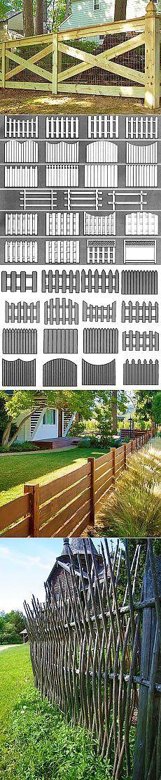 Как сделать деревянный забор — фото примеры и идеи по конструкциям | Дачный Дизайн — свежие идеи со всего мира