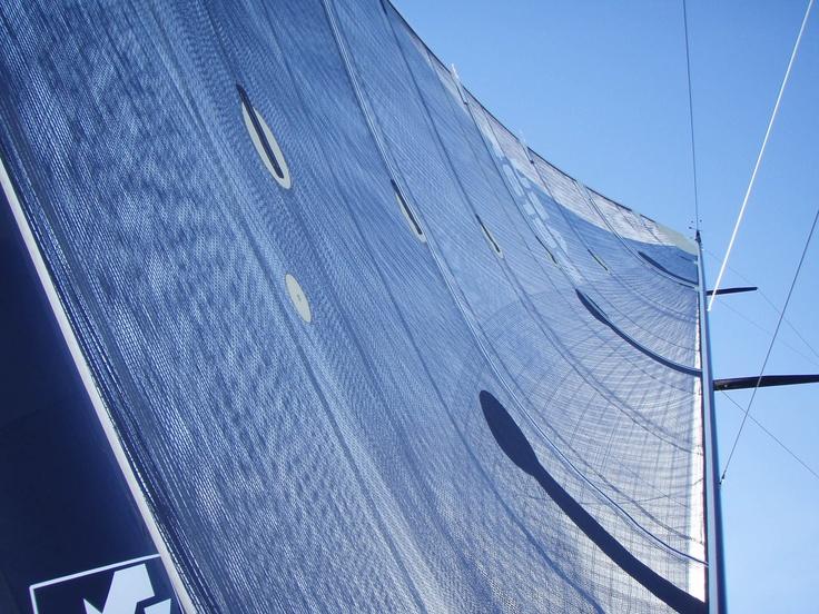 Up the Mainsail~