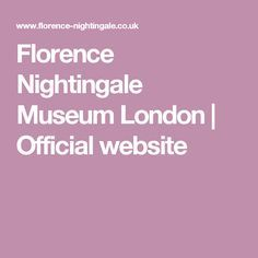 Florence Nightingale Museum London | Official website