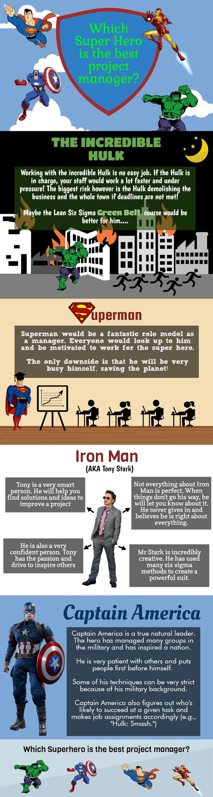 job hopping resume%0A Which Superhero Would Make The Best Project Manager