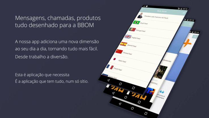 Apresentação APP - BBOM Touch