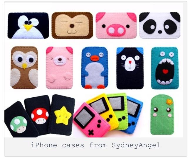 Felt iPhone cases                                                                                                                                                                                 Más