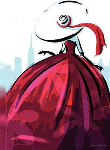 """The New Yorker Magazine :: From May 06, 2013 Cover Titled """"City Flair"""" by Birgit Schössow, Very Beautiful Artwork !! <3"""