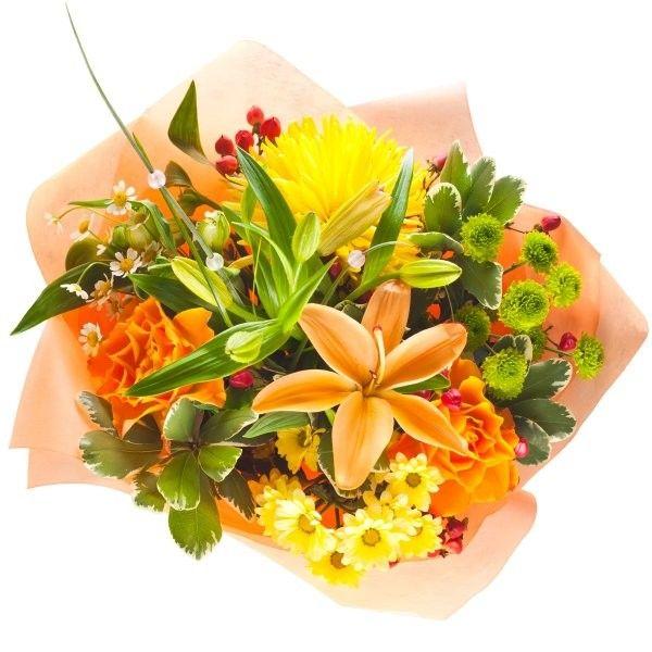 Buque de flores finas.