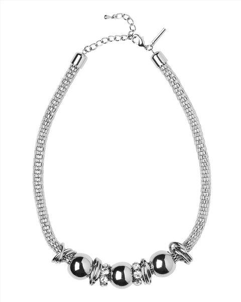 Crystal Bead Tubular Necklace  #winsupergawithritaora