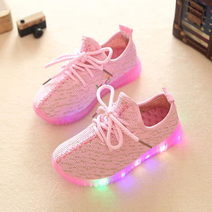2016 Children Shoes For Kids Light Up Shoes Boys Mesh Breathable Sport Led Sneakers Teenager Girls Running Shoes School Trainers #>=#>=#>=#>=#> Click on the pin to check out discount price, color, size, shipping, etc. Save and like it!