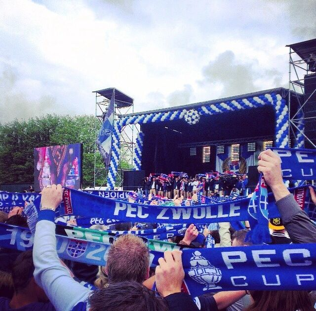 Official Tribute PEC Zwolle KNVB Champion Cup, Weezenlanden, Zwolle