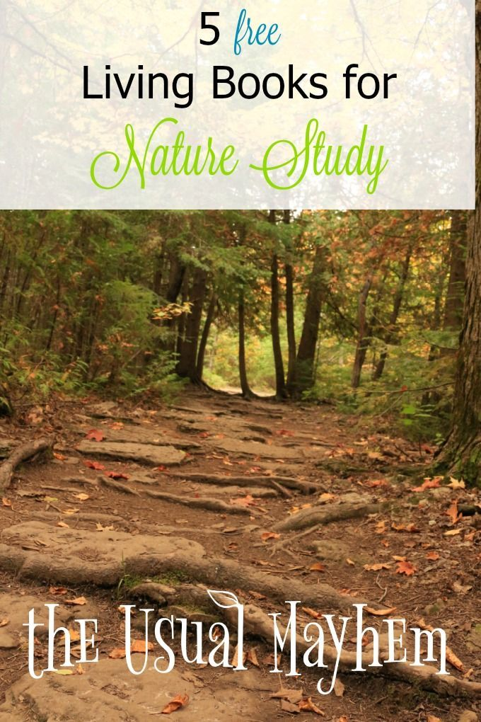 Looking for some FREE living books? Here are 5 don't-miss choices, with links, that you and your children will love for nature study!
