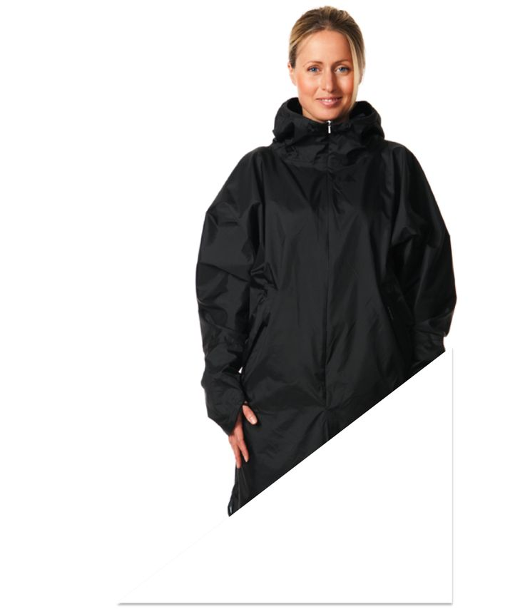 Folded in its integrated pocket, the IN THE POCKET®RAINCOAT takes minimal space in your bag. This also makes it perfect when traveling. Pull it out and put in on, when it is actually raining. We like good looks, and we like function. There for we added a cuff detail that protects your hands from the …