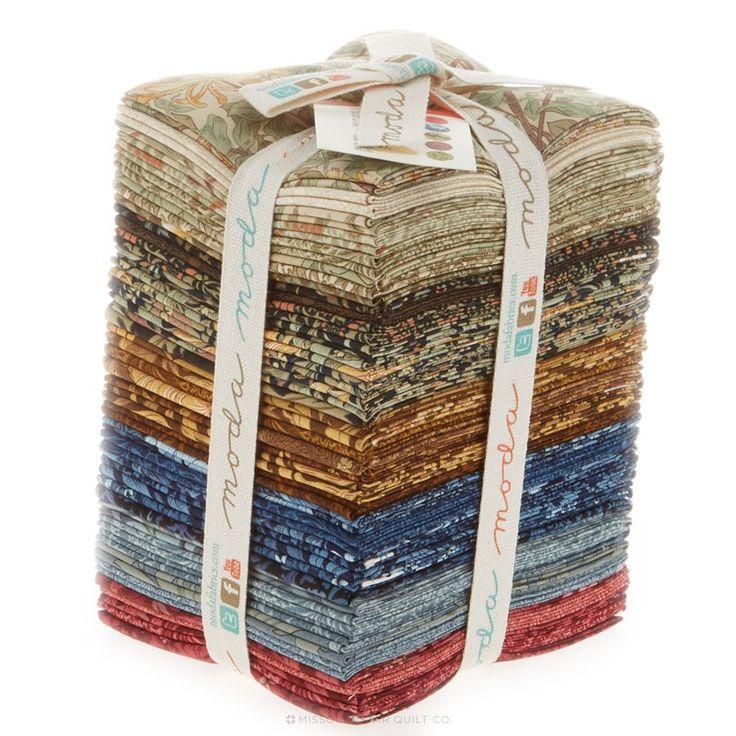 Best of Morris Fat Quarter Bundle - Barbara Brackman - Moda Fabrics