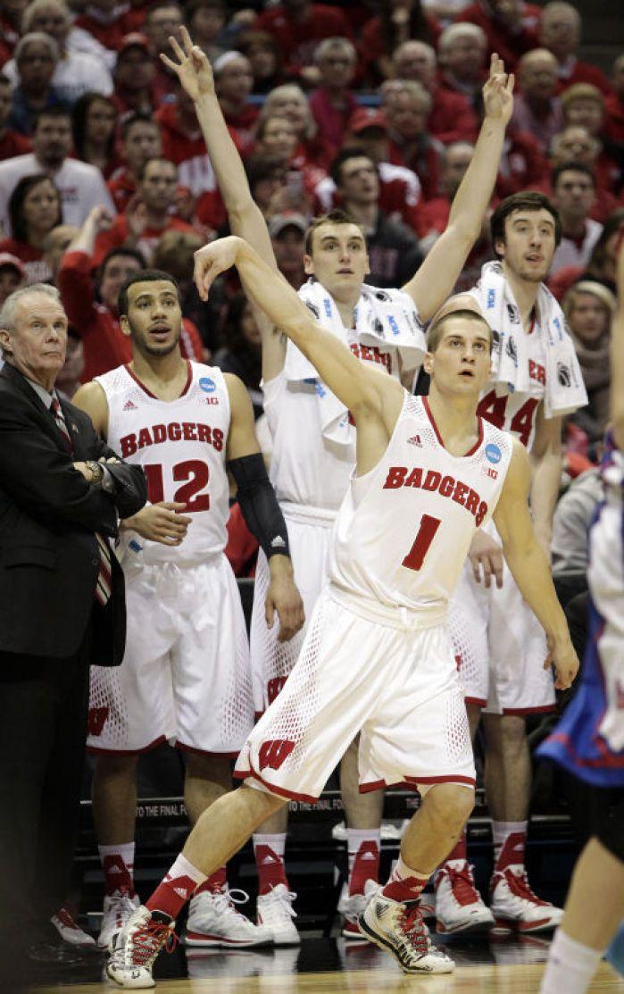 Badgers men's basketball: UW finds its range, rolls over American in NCAA opener : Sports
