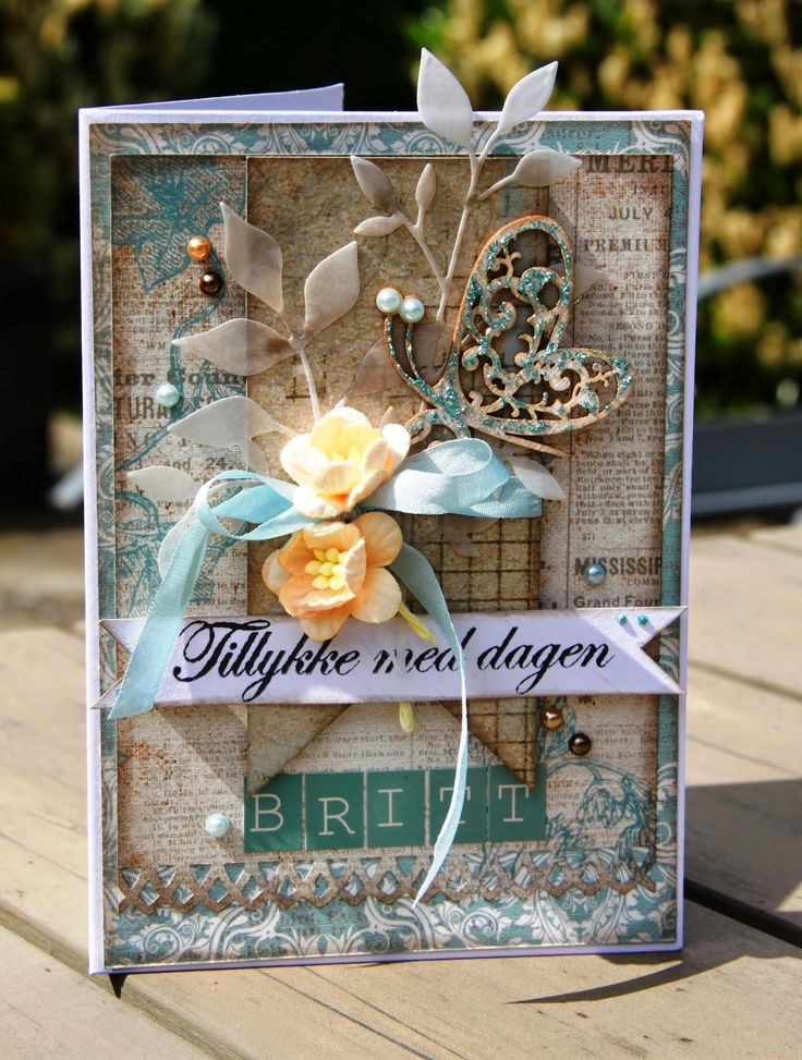 """Birthday card """"Tailgate Marked"""""""