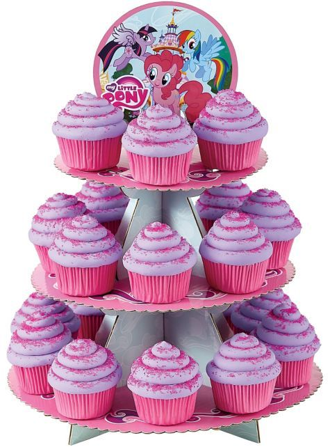 My Little Pony Cupcake Stand 16in - Party City
