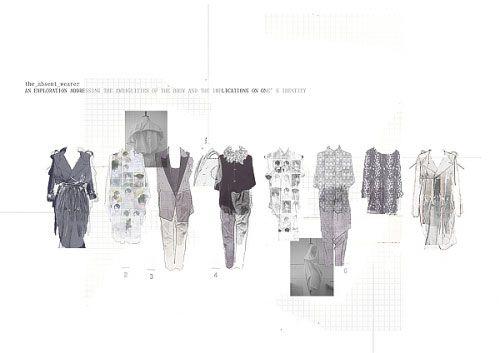 Fashion Sketchbook - fashion design portfolio; fashion illustration; layout; final collection lineup // Emma Glynn
