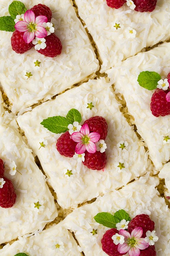 Coconut Sheet Cake - Cooking Classy