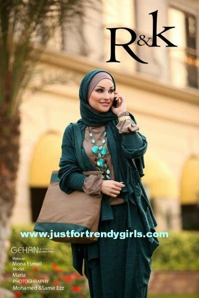 Hijab see more http://www.justfortrendygirls.com/2012/12/03/rk-hijab-designs-by-naima-kamel/