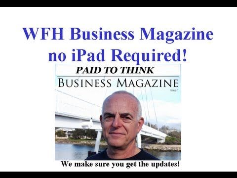We have introduced WFH Business Magazine - newsletter updates to keep you up to speed on, LIVE business training, tutorials, articles and more. There is no reason to miss out.  Go here to subscribe: http://auto-pilot-biz.com/mag