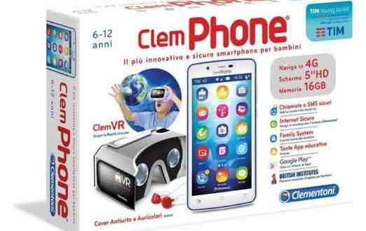 Regalo Natale Bambino Clementoni ClemPHONE 6.0 | Allmobileworld.it