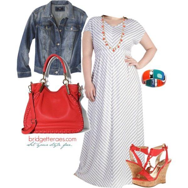 """""""Plus Size Maxi Dresses"""" by bridgetteraes on Polyvore..not shoes"""