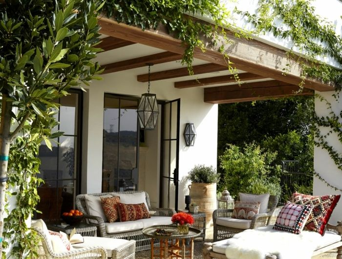 Die besten 25+ gemütliche Terrasse Ideen auf Pinterest Terrasse - elemente terrassen gestaltung
