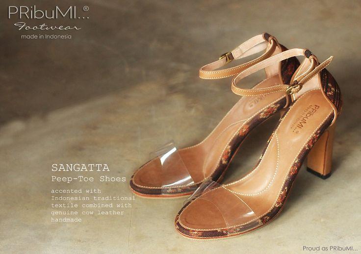 SANGATTA Peep-Toe Shoes by PRibuMI...®